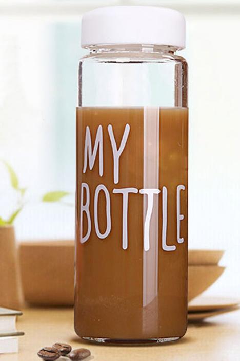 【太空水杯玻璃杯便携随手杯可爱学生男女士创意杯子
