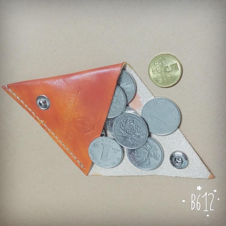 三角零钱包纯手工制作
