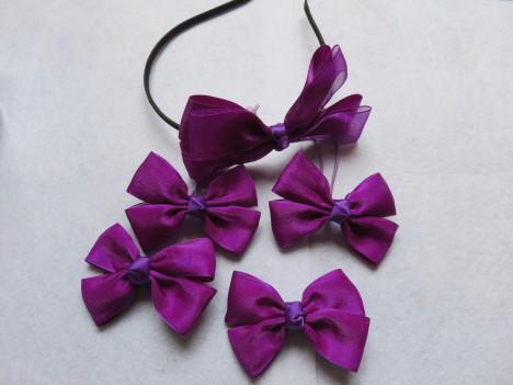儿童发饰品发箍套装蝴蝶结头饰 手工制作