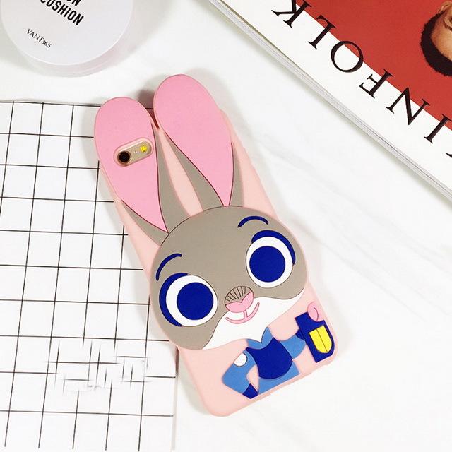 【疯狂动物城苹果s手机壳硅胶iphone6