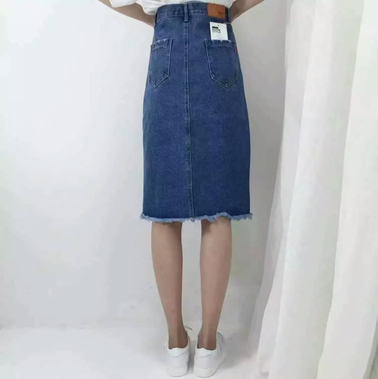 【牛仔裙】-无类目-半身裙