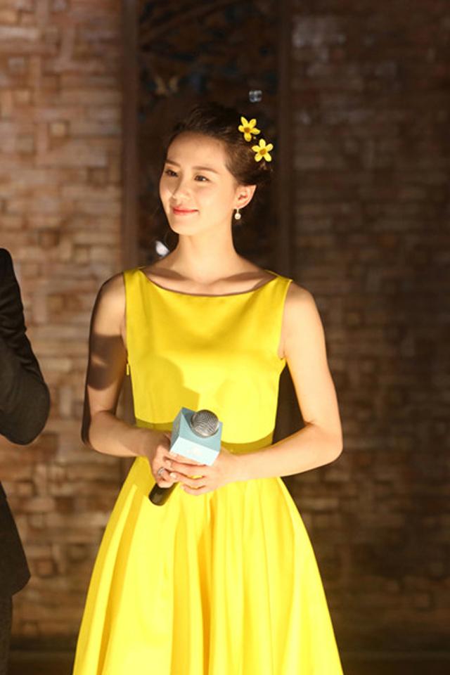 【明星刘诗诗同款不规则气质连衣裙】-衣服-裙子