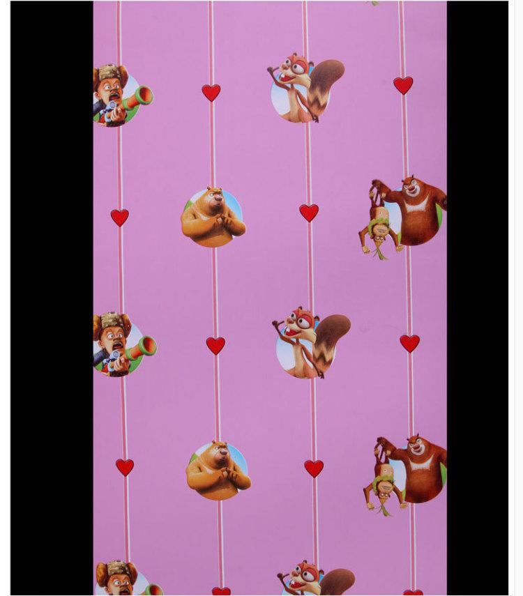 【10米长】pvc海绵宝宝卡通墙贴儿童房 自粘壁纸 自粘墙纸