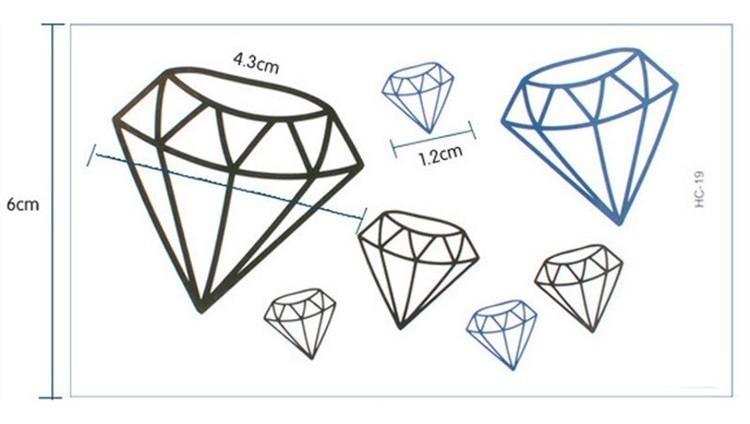 钻石图片简笔画