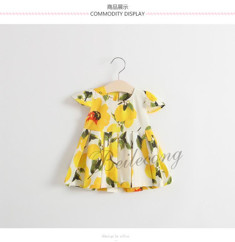 中小女童装连衣裙2016夏季公主裙宝宝裙子1-4岁
