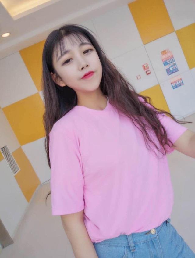 【韩国ulzzang原宿bf风学生宽松大码纯色短袖t恤打底