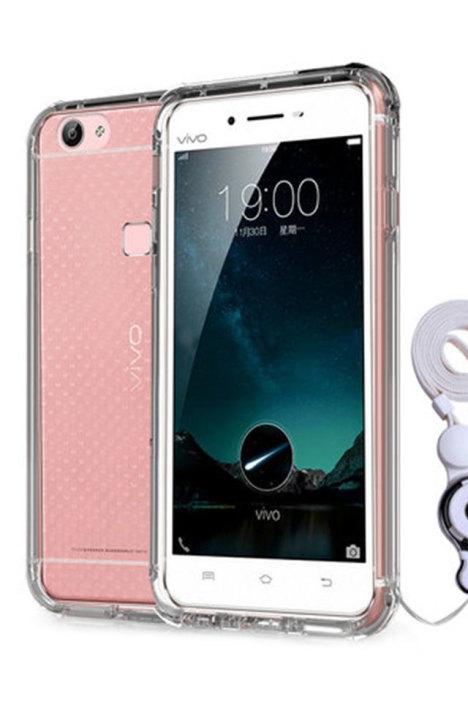 vivo v3maxa手机壳v3maxl保护套透明挂绳硅胶潮