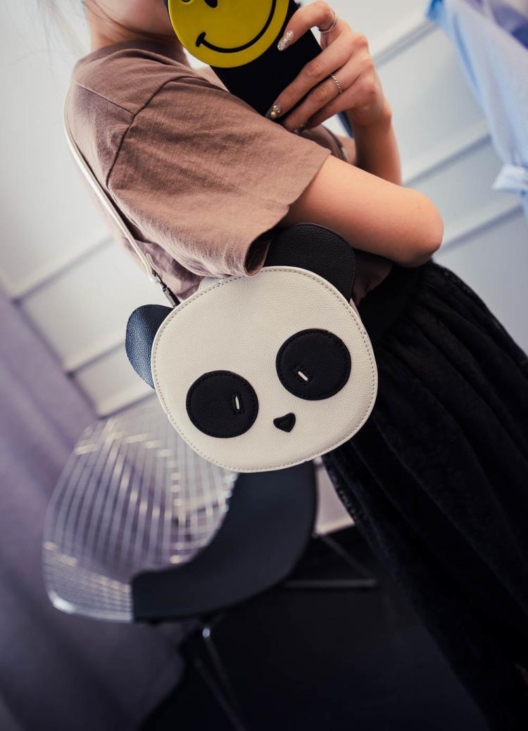 小清新卡通熊猫包单