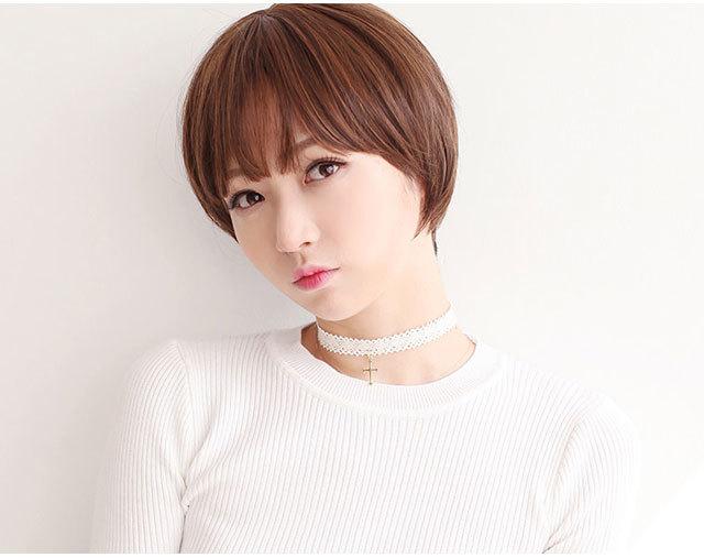 【艾丝韩版短发空气刘海bobo头】-配饰-配饰图片