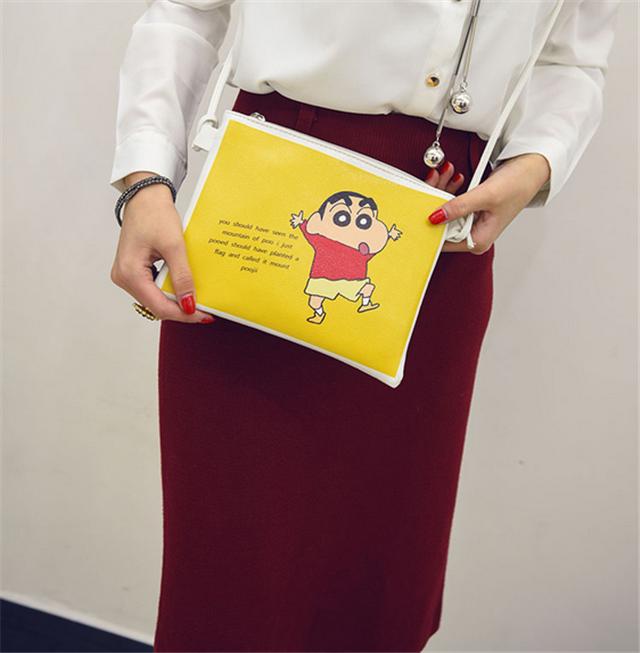 韩国ulzzang原宿风可爱卡通软妹信封包