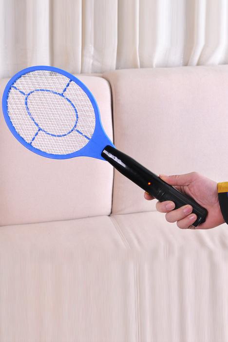 【多功能电池版电蚊拍电池苍蝇拍】-null-百货
