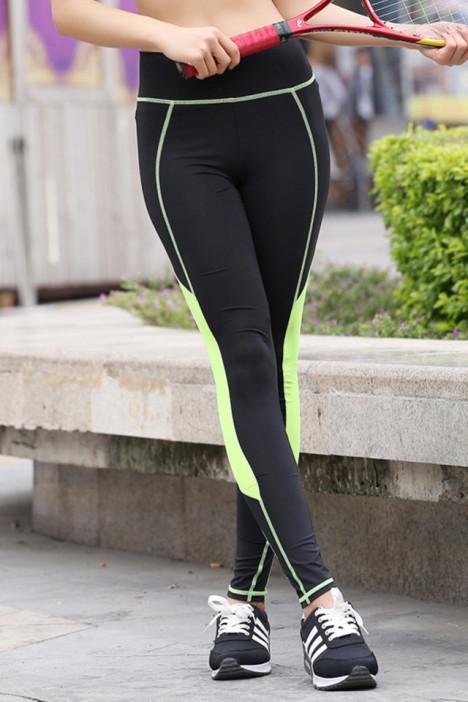 新款瑜伽裤紧身 运动紧身裤 健身裤女