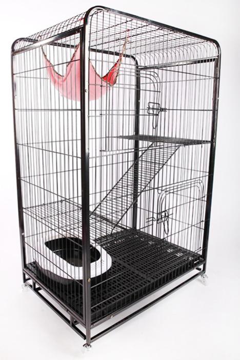 折叠猫笼子 猫咪豪华别墅 宠物笼