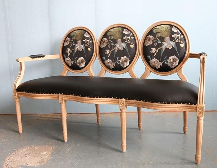 【复古地中海休闲实木沙发椅】-null-凳类