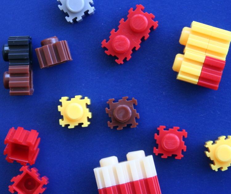 【乐高式串联微型积木玩具