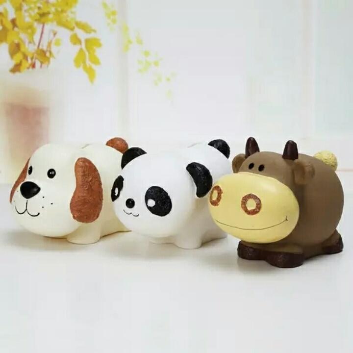 【创意可爱大号超萌生肖狗储蓄罐卡通羊萌萌牛存钱罐