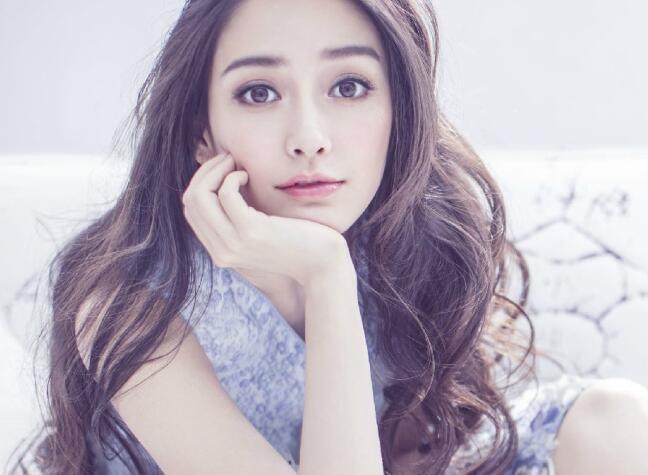 angelbaby杨颖明星同款绣花蕾丝无袖甜美清新收腰连衣裙