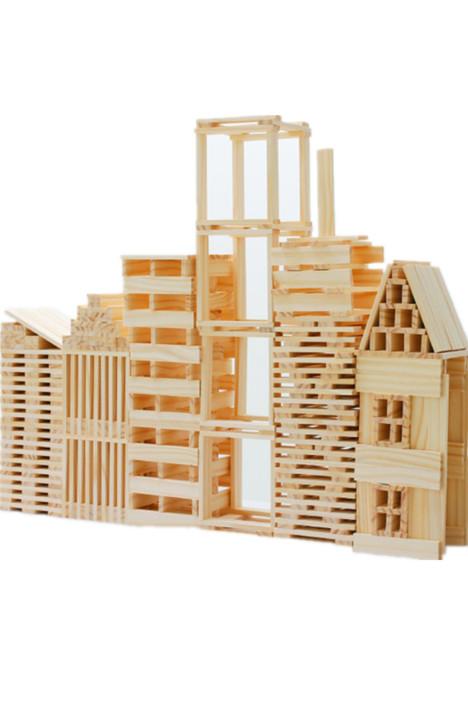 【百搭创意搭搭乐层层叠叠高积木儿童益智力玩具拼