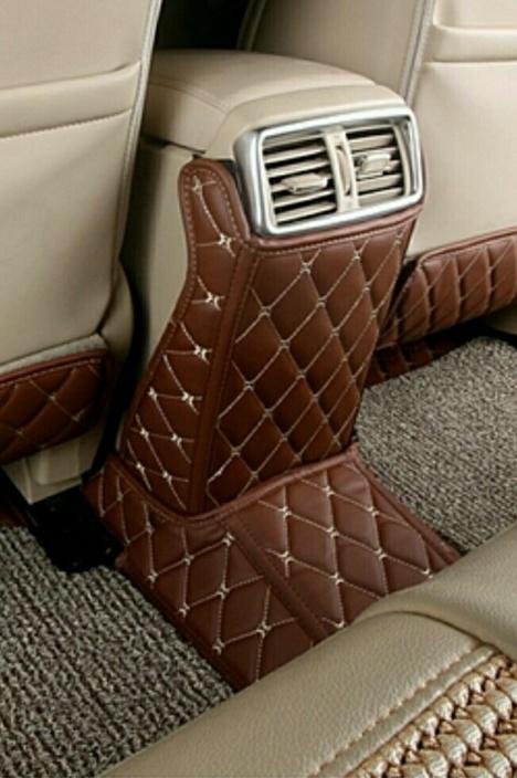 专用于2014款日产新奇骏座椅防踢垫 2015奇骏改装内饰