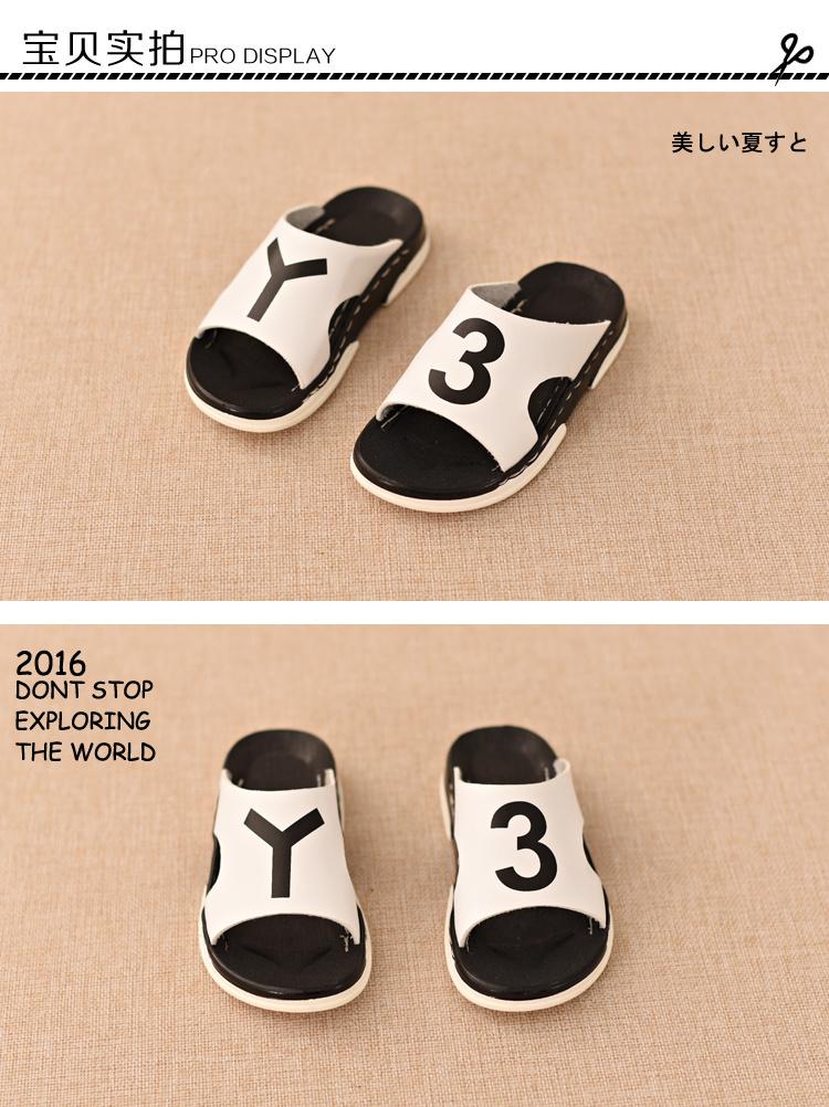 mmbb_【mmbb】童鞋 夏季新款儿童拖鞋 聚氨酯底y3韩版凉童鞋