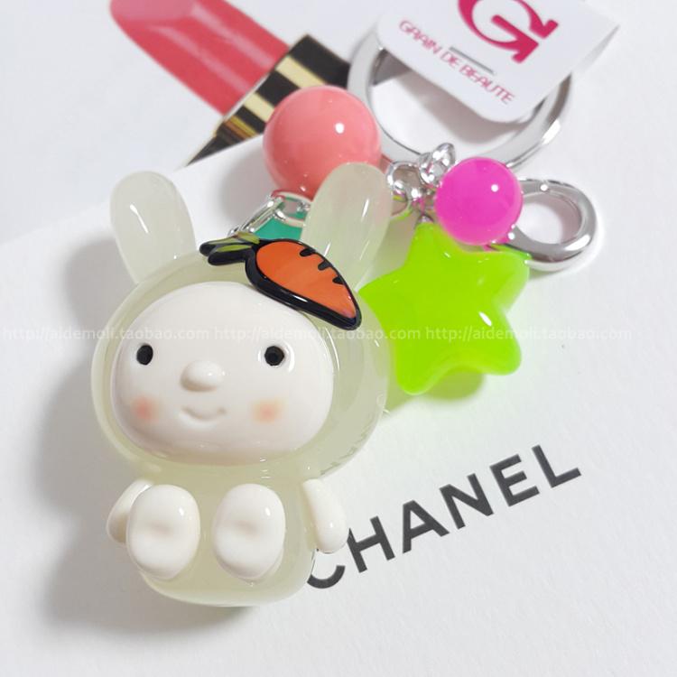 胡萝卜小兔子妹妹包挂钥匙
