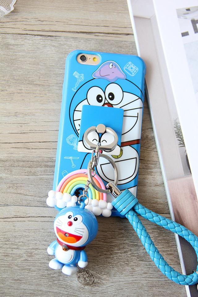 她的熊蓝胖子小叮当哆啦a梦iphone6s手机壳