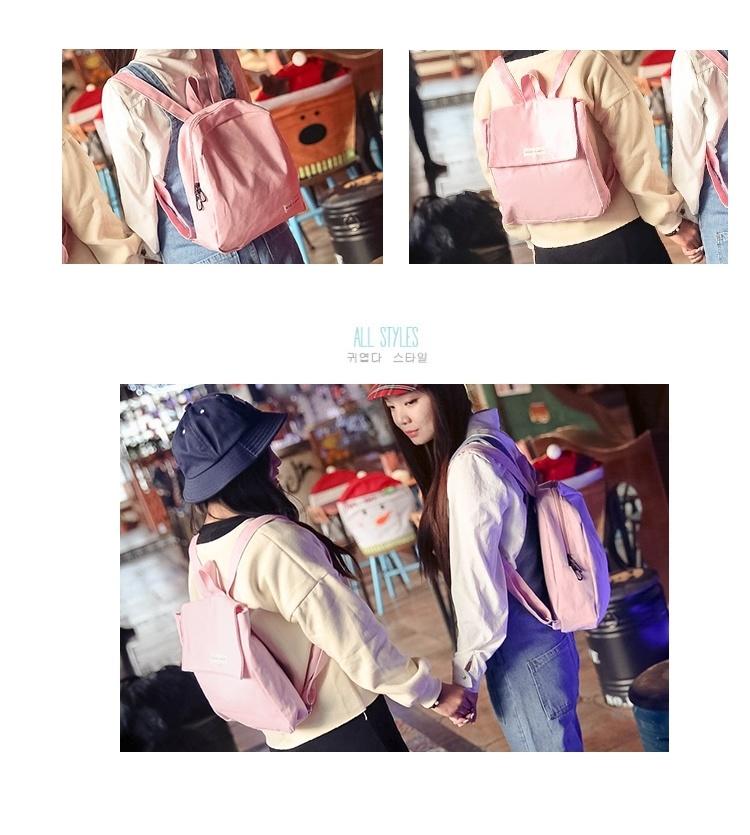 韩国日系超萌背包纯色小清新软妹书包学生迷你双肩包闺蜜童趣味包