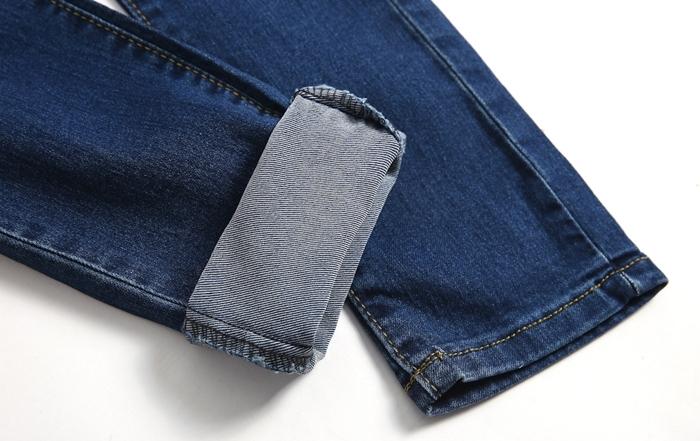 裤深蓝色牛仔裤女