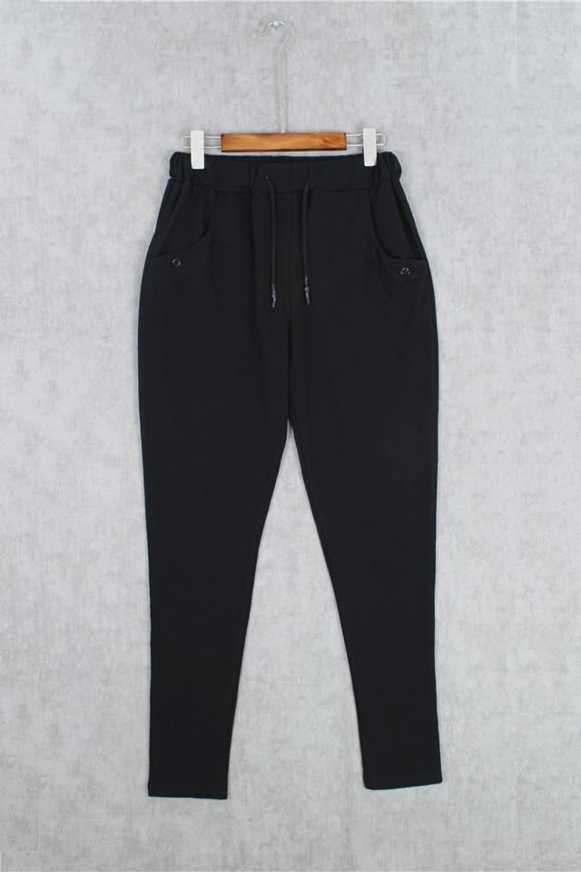 【ouy百搭松紧带毛圈运动裤】-男装-裤子